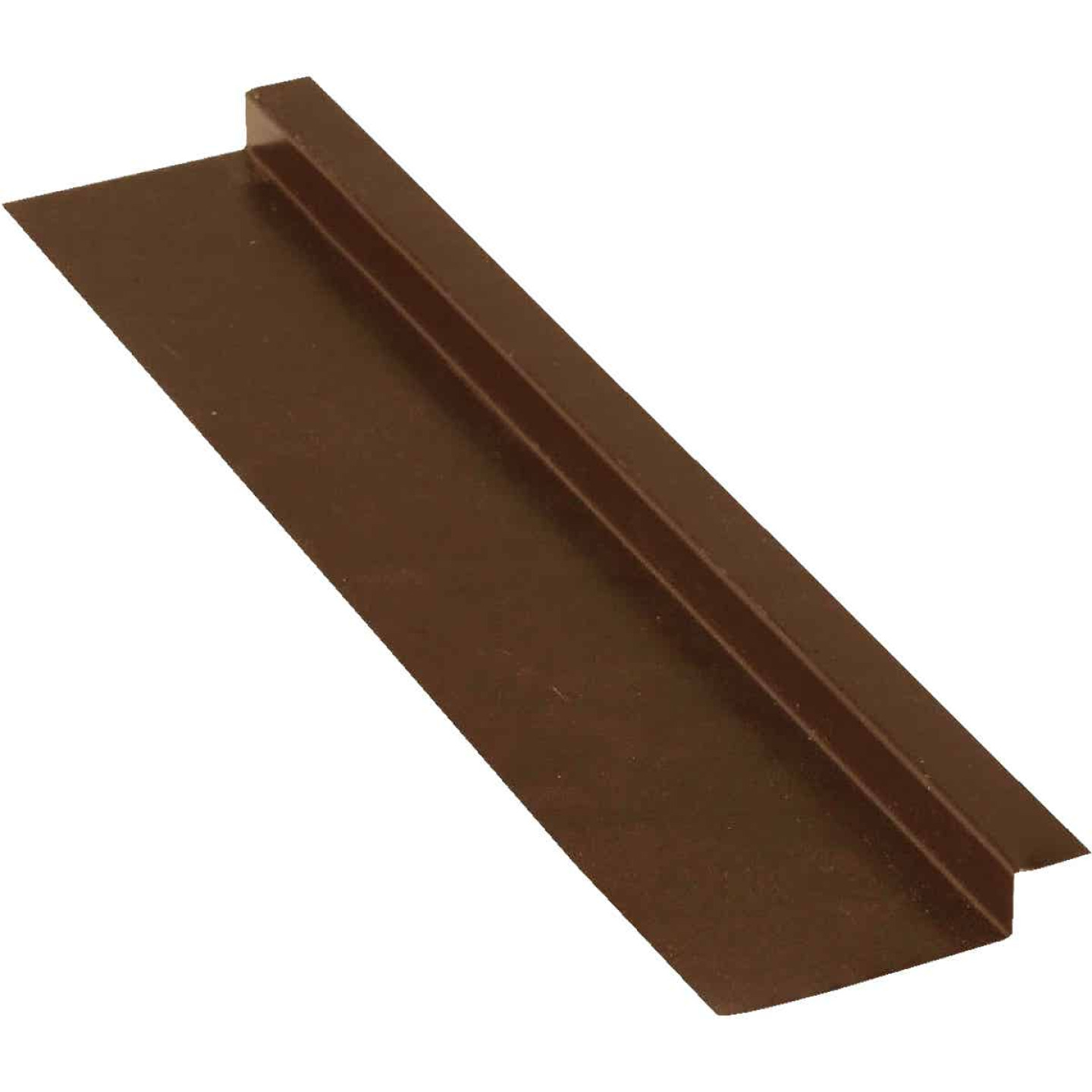 NorWesco 3/8 In. x 5/8 In. x 2 In. x 10 Ft. Brown Galvanized Ply Edge Z-Style Flashing Image 1