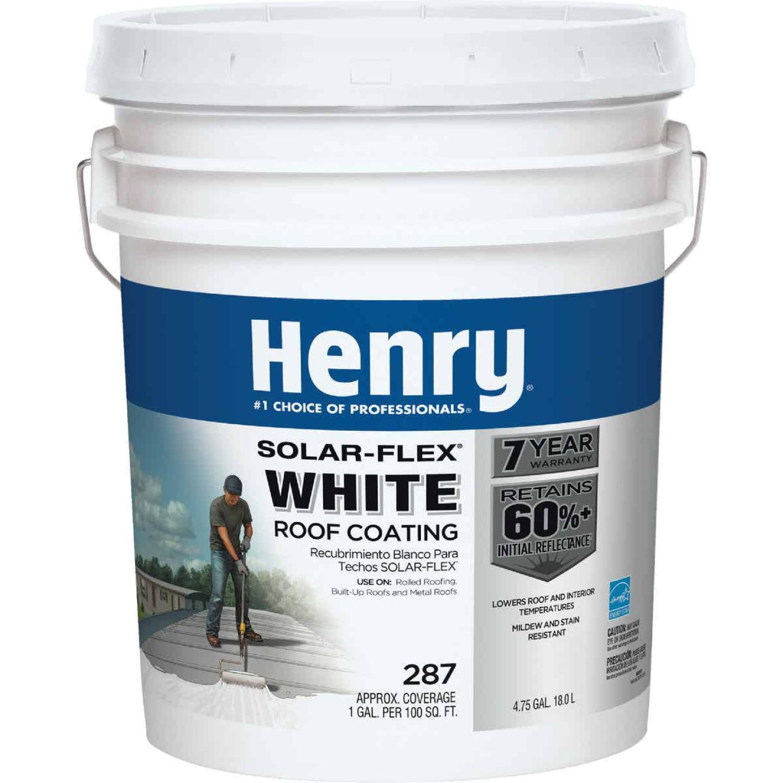Henry SolarFlex 5 Gal. White Acrylic Latex Elastomeric Roof Coating Image 1
