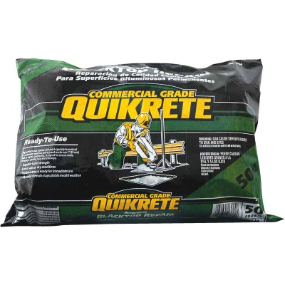 Quickrete 50 Lb. Commercial Grade Permanent Asphalt Repair & Patch