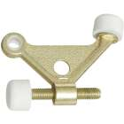 National Brass Zinc Hinge Pin Door Stop Image 1