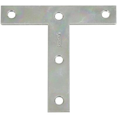 "National 4"" x 4"" Zinc T-Plate, (2-Pack)"
