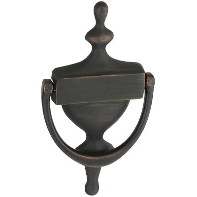 National 7 In. Antique Bronze Door Knocker