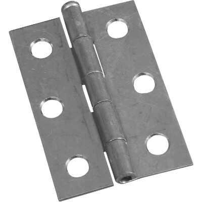 National 2-1/2 In. Zinc Loose-Pin Narrow Hinge (2-Pack)