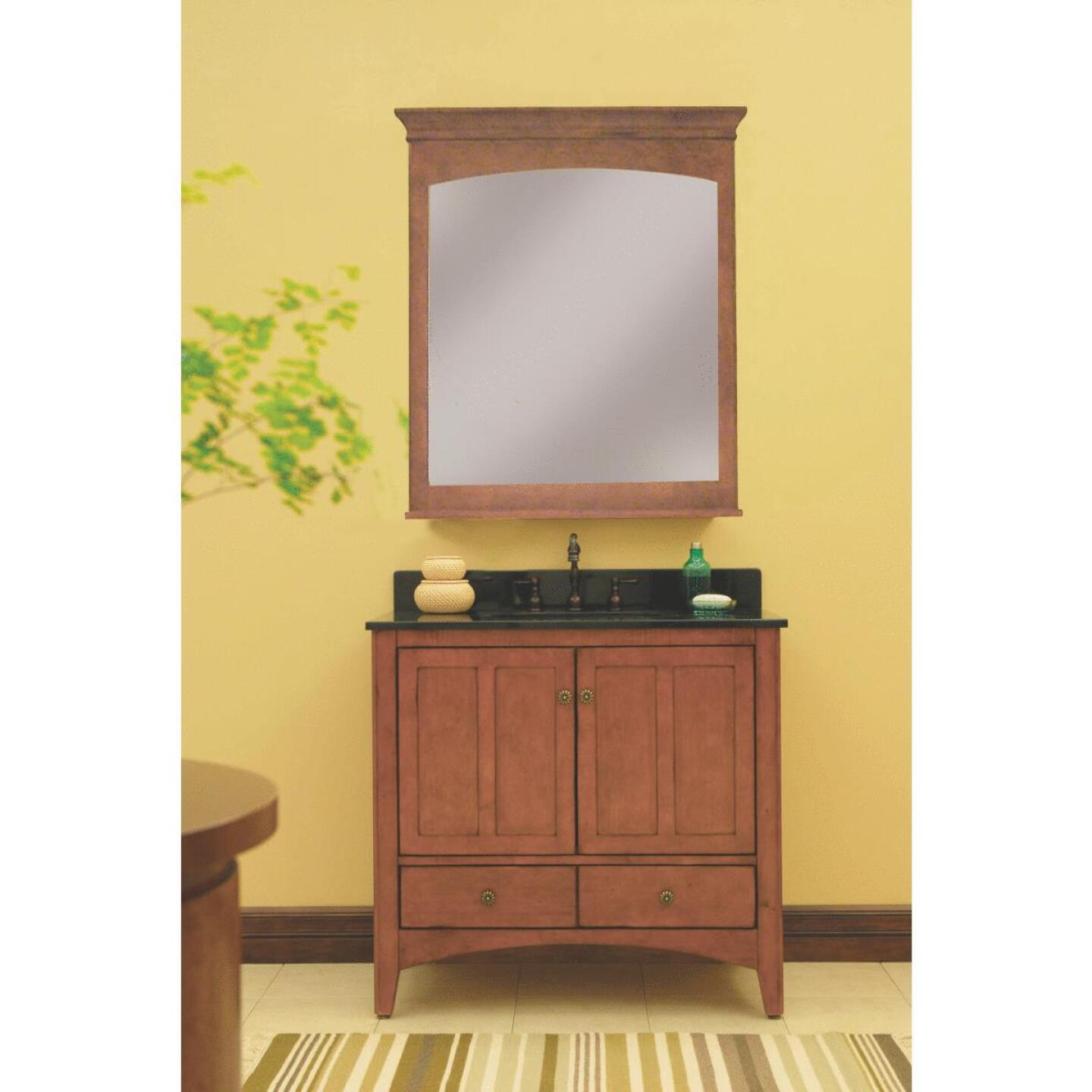 Sunny Wood Expressions Warm Cinnamon 36 In. W x 34 In. H x 21-1/4 In. D Vanity Base, 2 Door/2 Drawer Image 2