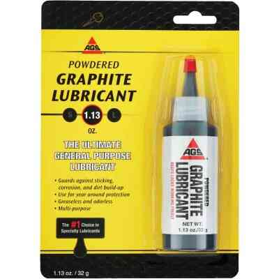 AGS 1.13 Oz. Bottle Powdered Graphite Dry Lubricant