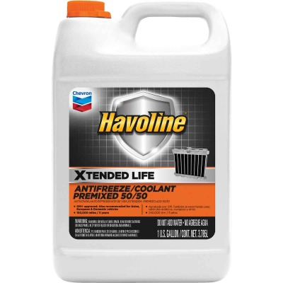 Havoline Xtended Life Gallon 50/50 Pre-Diluted -32 F Automotive Antifreeze