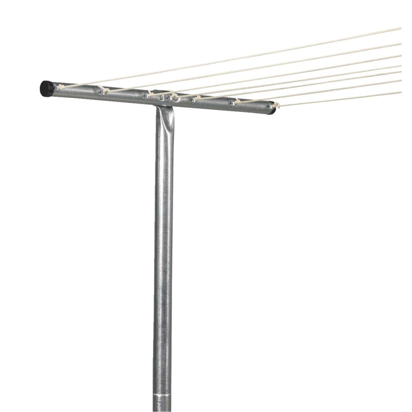 Household Essentials Sunline 90 In. 2 In. Steel Clothesline Post Image 1